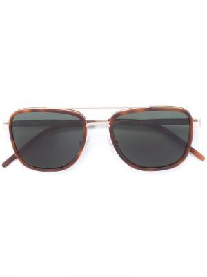 Солнцезащитные очки Olmo YMC. Цвет: коричневый