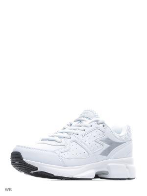Кроссовки DIADORA. Цвет: белый, серебристый
