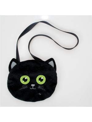 Сумочка детская Кошечка Fancy. Цвет: черный