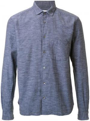 Рубашка Curtis YMC. Цвет: синий