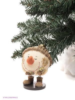Статуэтка Mister Christmas. Цвет: светло-бежевый, золотистый, коричневый