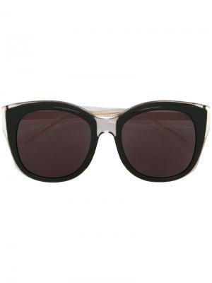 Солнцезащитные очки Beatrice Maska. Цвет: чёрный