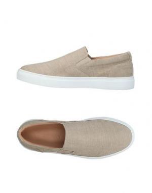 Низкие кеды и кроссовки CARLA SAINT-BARTH. Цвет: песочный