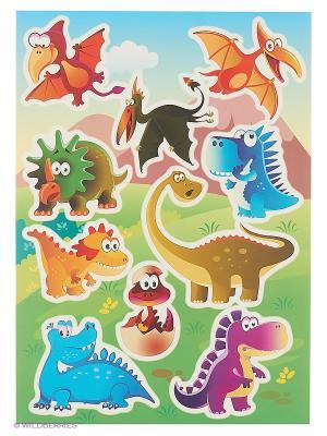 Веселые динозаврики DECORETTO. Цвет: оранжевый, зеленый, голубой, сиреневый