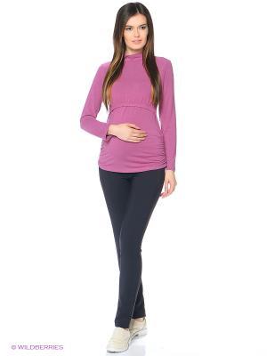 Водолазка для беременных FEST. Цвет: розовый