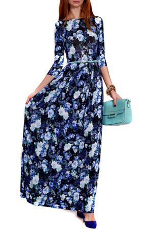 Платье FRANCESCA LUCINI. Цвет: бирюзовый