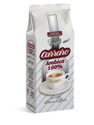 Carraro Arabica 100%  500 гр вак (зерн). Цвет: коричневый