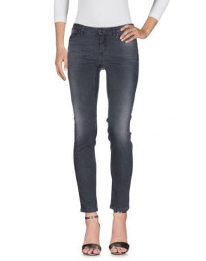 Джинсовые брюки I BLUES. Цвет: черный