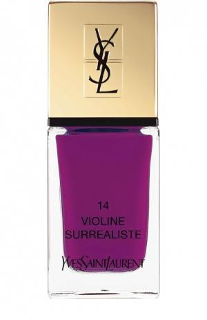 Лак для ногтей La Laque Couture, оттенок 14 YSL. Цвет: бесцветный