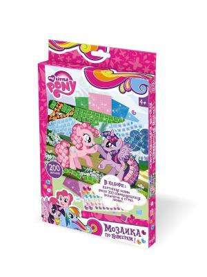 My little pony. Мозаика  -сингл Пони Pony. Цвет: серо-зеленый,голубой,бледно-розовый