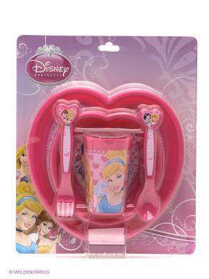 Набор посуды Принцессы Stor. Цвет: розовый