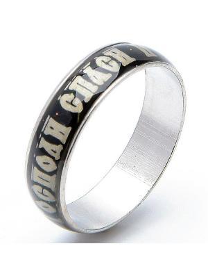 Кольцо Спаси и сохрани ювелирный сплав Револю. Цвет: серый