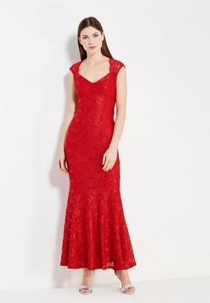 Платье Dorothy Perkins. Цвет: красный