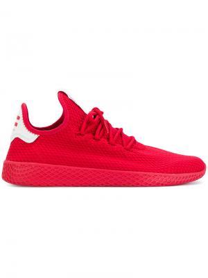 Кроссовки Tennis HU Adidas Originals. Цвет: красный