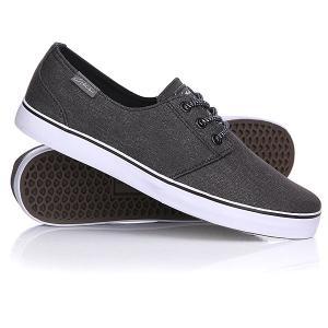 Кеды кроссовки низкие  Crip Black/Charcoal Circa. Цвет: серый