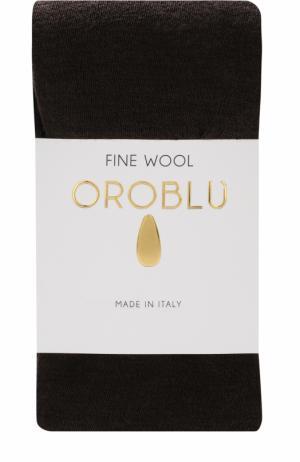 Шерстяные колготки Oroblu. Цвет: темно-коричневый