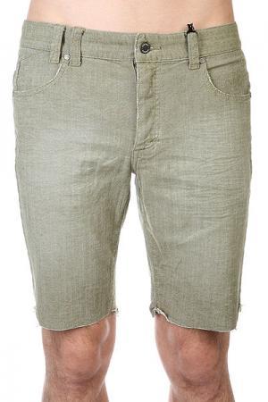 Шорты джинсовые  Surplus Green Insight. Цвет: зеленый