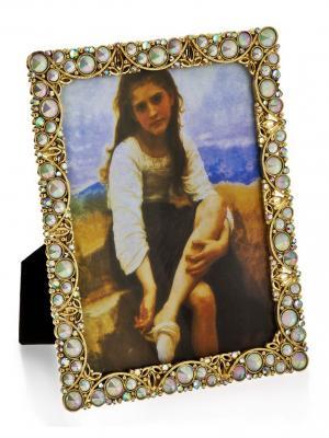 Фоторамка Опал в золоте Glory Design. Цвет: золотистый