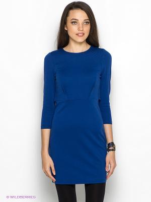 Платье DOCTOR E. Цвет: темно-синий