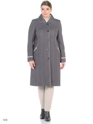 Утепленное пальто MONTSERRAT. Цвет: серый