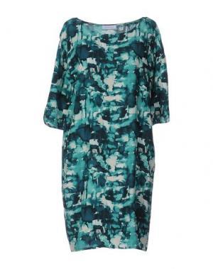 Короткое платье SECOND FEMALE. Цвет: зеленый