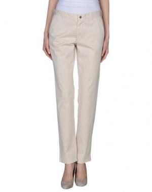 Повседневные брюки CONTE OF FLORENCE. Цвет: бежевый