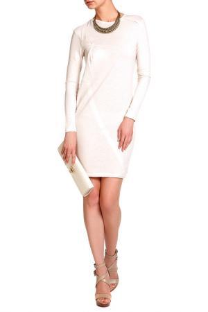 Платье Costume National. Цвет: бежевый