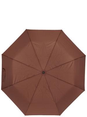 Зонт Labbra. Цвет: коричневый