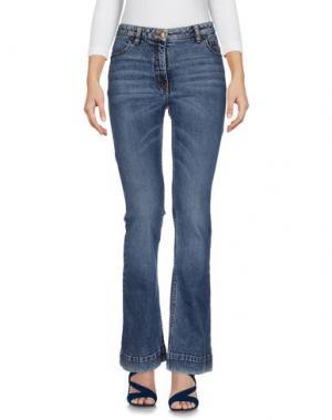 Джинсовые брюки TOM REBL. Цвет: синий