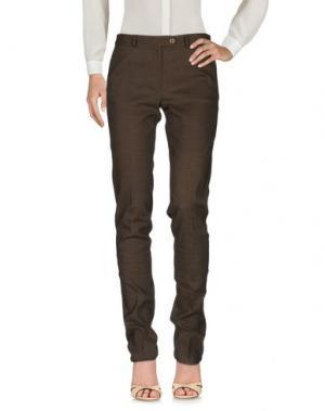 Повседневные брюки FEDELI. Цвет: хаки