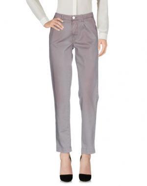 Повседневные брюки NELL&ME. Цвет: голубиный серый