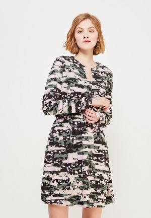 Платье Q/S designed by. Цвет: разноцветный