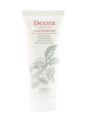 Гель для бритья Deora Cosmetics. Цвет: белый