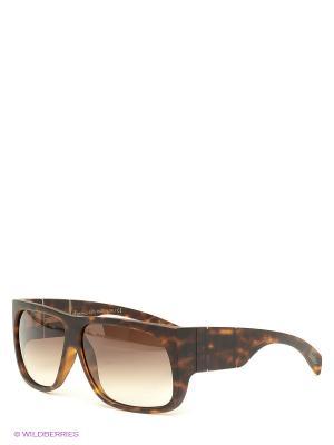 Солнцезащитные очки Borsalino. Цвет: коричневый