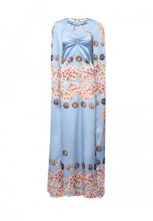 Платье Tutto Bene. Цвет: голубой