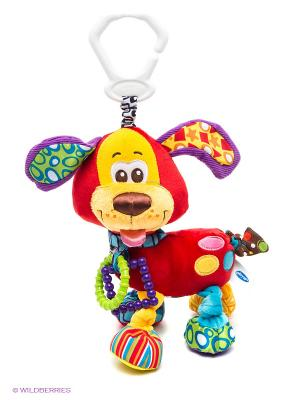 Мягкая игрушка-подвеска Щенок Playgro. Цвет: красный