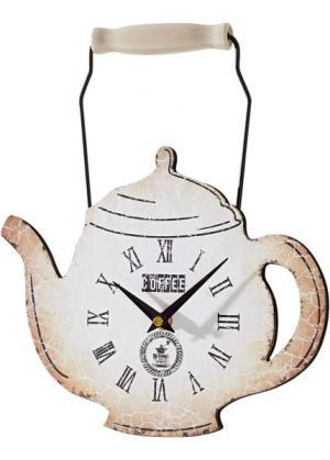Настенные часы Венеция (песочный) bonprix. Цвет: песочный