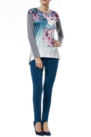 Комплект с брюками Relax Mode. Цвет: петрол, зеленый