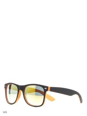 Солнцезащитные очки Modis. Цвет: черный, оранжевый