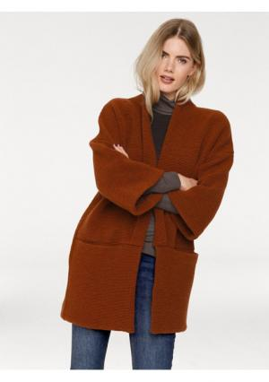Трикотажное пальто B.C. BEST CONNECTIONS. Цвет: оранжевый