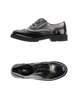 Обувь на шнурках SCOOP. Цвет: черный
