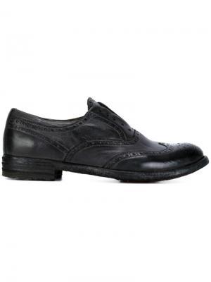 Туфли без шнуровки Officine Creative. Цвет: серый
