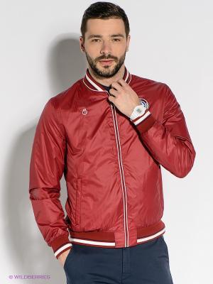 Куртка BOSCO. Цвет: бордовый