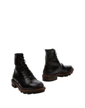 Полусапоги и высокие ботинки O.X.S.. Цвет: темно-коричневый