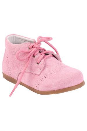 Ботинки Gulliver. Цвет: розовый