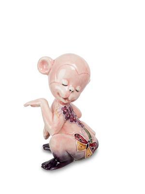 Фигурка Обезьяна (Pavone) Pavone. Цвет: розовый