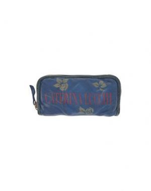 Бумажник CATERINA LUCCHI. Цвет: темно-синий