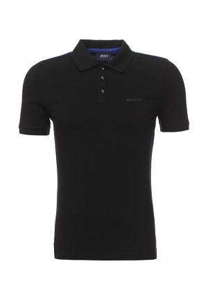 Поло Armani Jeans. Цвет: черный