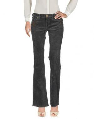 Повседневные брюки POLO JEANS COMPANY. Цвет: свинцово-серый