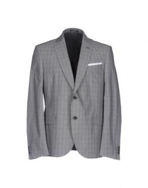Пиджак GREY DANIELE ALESSANDRINI. Цвет: серый